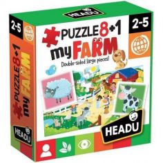 8+1 first puzzle my farm