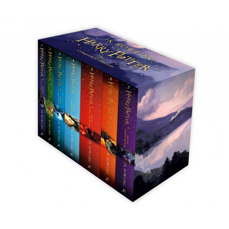 Harry Potter 1-7 boxed set. The complete collection